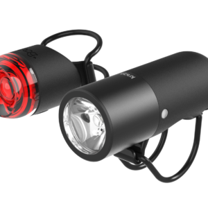 Plugger Bike Light Twinpack Black